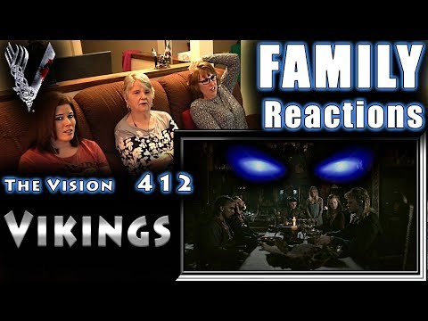 VIKINGS | 412 | The Vision | FAMILY Reactions | Fair Use