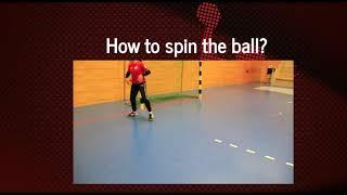 Handball Spin Tutorial - Wing Player