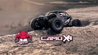 Redcat Camo X4 1/10 Scale Brushless Electric RC Rock Racer