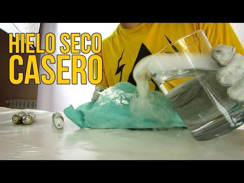Cómo hacer hielo seco casero (Experimentos Caseros)