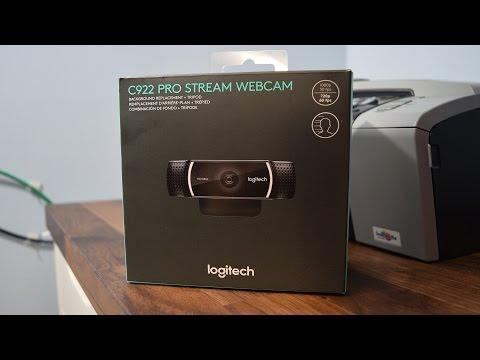 Logitech C922 Pro Stream Webcam Review + 60 FPS Video Test