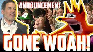 Crash Bandicoot ANNOUNCEMENT (GONE... WOAH!)