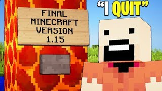 If Minecraft Stopped Having Updates