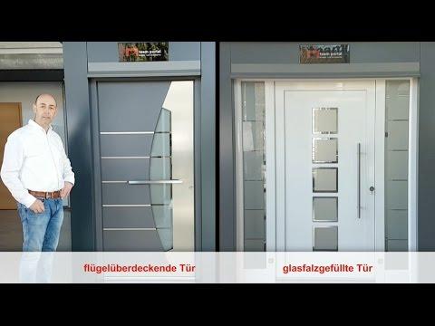 Grundlegende Unterscheidung bei Haustüren