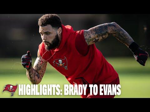 Highlight: Tom Brady Throws to Mike Evans, Chris Godwin