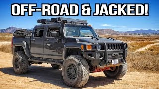 Totally Modified and Jacked: 2009 Hummer H3T Alpha on Everyman Driver