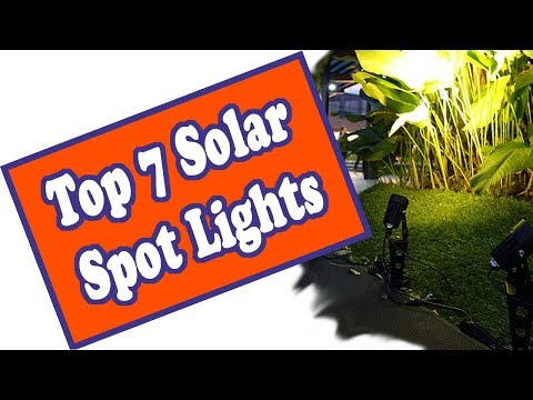 🌻 Best Outdoor Solar Spot Lights - The Top 7 Landscape LED Spotlights