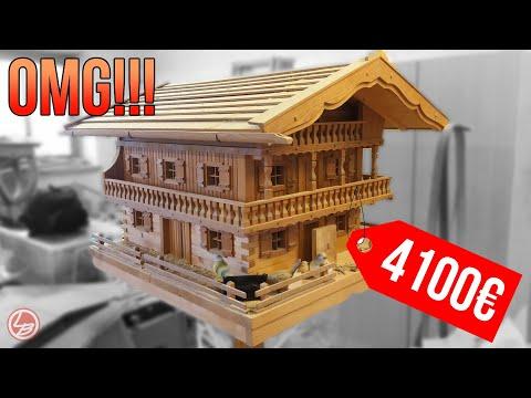 (1/2) Das schönste Vogelhaus auf YouTube zum nachbauen!