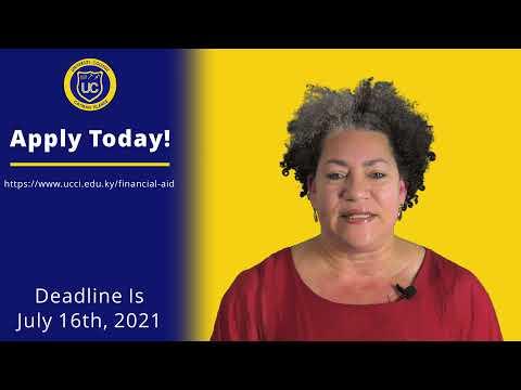 UCCI's - Financial Aid