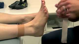 Ankle Taping - Basic