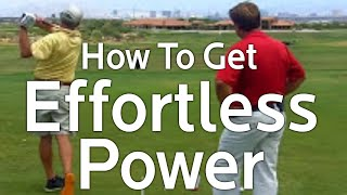 Effortless Power: How To Increase Your Golf Swing Speed