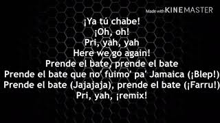 Pa Jamaica Remix Letras - El Alfa Ft. Big O, Mike Towers, Darell & Farruko (Video Lyrics 2019)