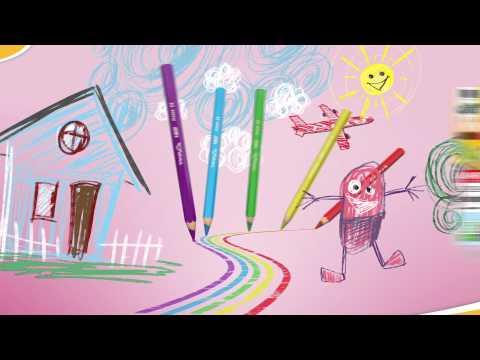 Malspaß mit dem Ökotest-Sieger - BIC Kids Dreikant-Buntstifte