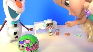 Куклы Лол #LoL Surprise Снеговик и пупсики ЛОЛ #Видео для девочек! Мультик с игрушками!