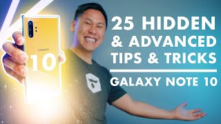 "TOP 25 SAMSUNG GALAXY NOTE 10 & NOTE 10+ TIPS - HIDDEN & ""ADVANCED FEATURES"""