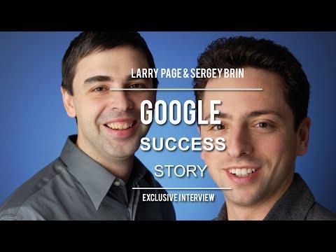 Google Success Story - Larry Page & Sergey Brin Full Speech