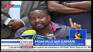 NASA umesisitiza kuwa hafla ya kuwaapisha Raila Odinga na Kalonzo Musyoka bado ingalipo
