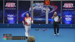 Just. 2019 World Indoor Bowls Championships: Day 7 Session 2