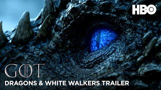 Game of Thrones | Official Dragons & White Walkers Trailer (HBO)