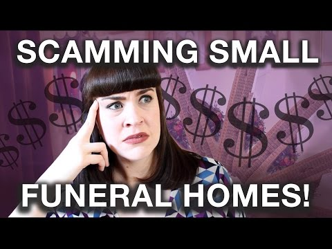 STORYTIME: THE $11,500 CASKET SCAM