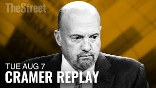 Jim Cramer on Apple, Alphabet, Amazon, Disney, Cigna and Express Scripts