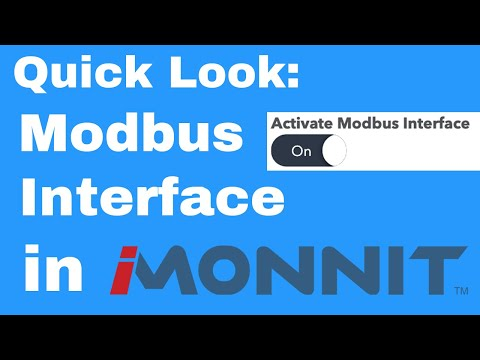 how to activate the Modbus Interface on an Ethernet Gateway in iMonnit