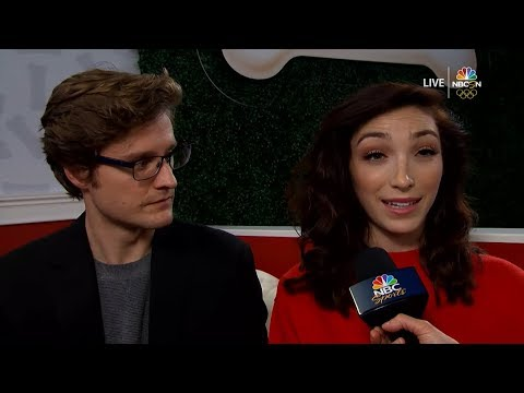 Meryl Davis & Charlie White US Nationals Interview | LIVE 1-5-18