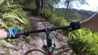 This is a POV video of Pandemonium where I show all the options (I loop back to the fork in the trail).
