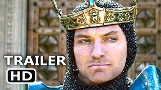 KING ARTHUR Official Trailer  2 2017 Guy Ritchie Action Movie HD