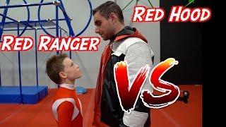 Ashton Myler VS. the Red Hood!