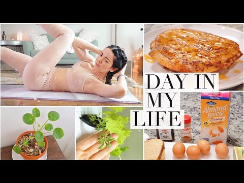 DIML: Cleaning, Cooking, Gardening & Working out!
