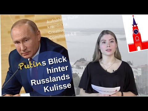 Putins Blick hinter Russlands Kulisse [Video]
