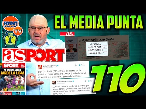 El Media Punta 90 minuti #110 Especial bilis antimadridista Sevilla - Real Madrid (16/01/2017)