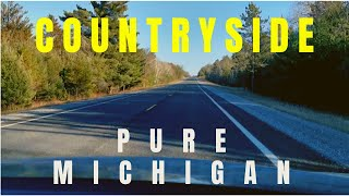 BEAUTIFUL COUNTRYSIDE | ROAD TRIP IN PURE MICHIGAN | FALL SEASON