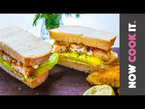 Incredible Fried Fish Sandwich Recipe