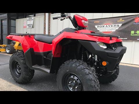 2020 Suzuki KingQuad 750AXi Power Steering in Greenville, North Carolina - Video 1