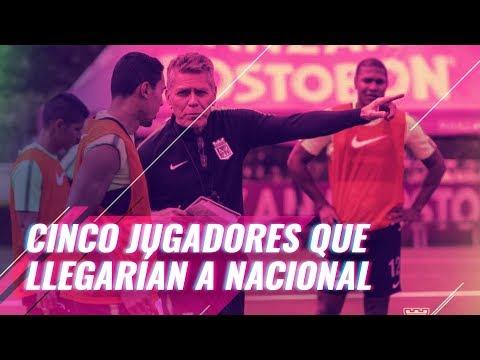 Cinco jugadores que llegarian a Nacional tras la decision del TAS | A Un Toque
