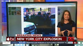 New York explosion: 1 in custody after blast at Port Authority bus station