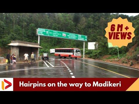 Hairpins on the way to Madikeri, Karnataka
