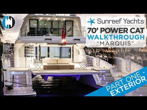Sunreef SUNREEF 70 POWER video
