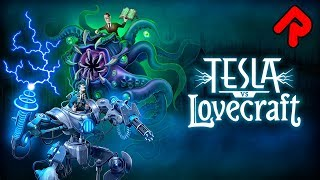 Tesla vs Lovecraft gameplay: Fight Cthulhu in a Mech! | Let's play Tesla vs Lovecraft PC preview
