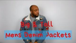 Big & Tall Mens Denim Jackets