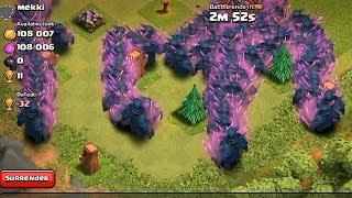 Clash of clans - PEKKA RAID 300 level 5 (Mass gameplay)
