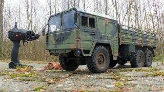 JJRC Q64 - RC Truck Crawler mit 6-Rad Antrieb von Banggood // Testbericht & Testfahrt