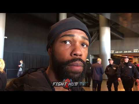 GARY RUSSELL JR REFUSES TO ANSWER QUESTIONS ABOUT LOMACHENKO