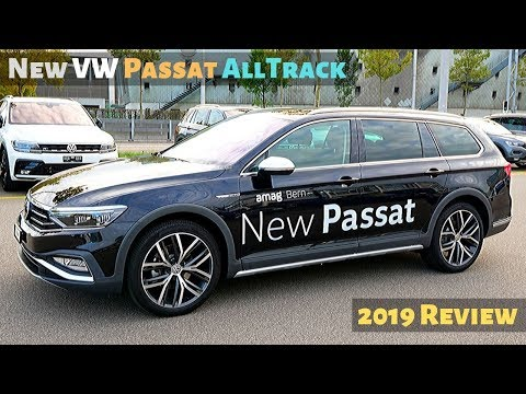New VW Passat AllTrack 2019 Review Interior Exterior