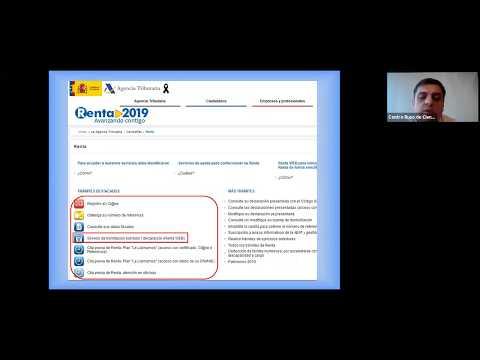 Заполняем налоговую декларацию IRPF (Renta 2019). Практические совета русскоязычного хестора.