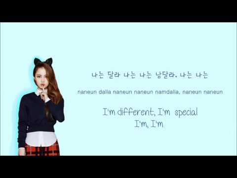 Learn Korean with HI SUHYUN's I'm Different