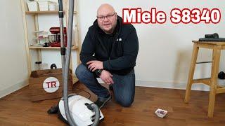Miele S8340 im Test Review / Miele S8340 C3 Bodenstaubsauger Powerline 890 Watt mit Beutel