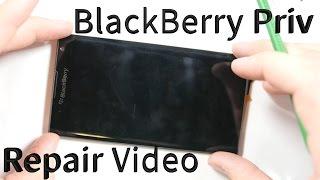 BlackBerry Priv Tear Down - Screen Repair, Battery Replacement